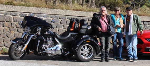 Location Harley Davidson Tri glide ultra