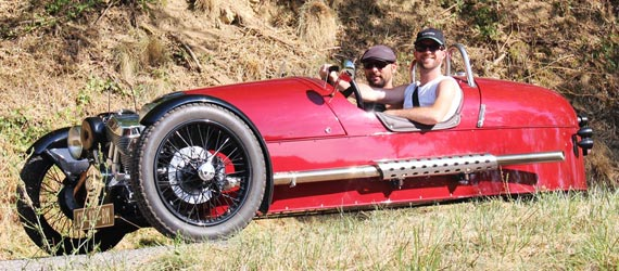 rental Morgan 3 Wheeler